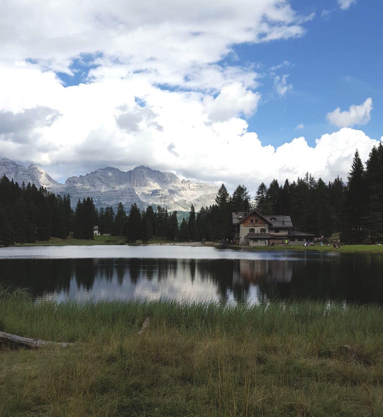 Gita al Lago Nambino la cui leggenda narra…