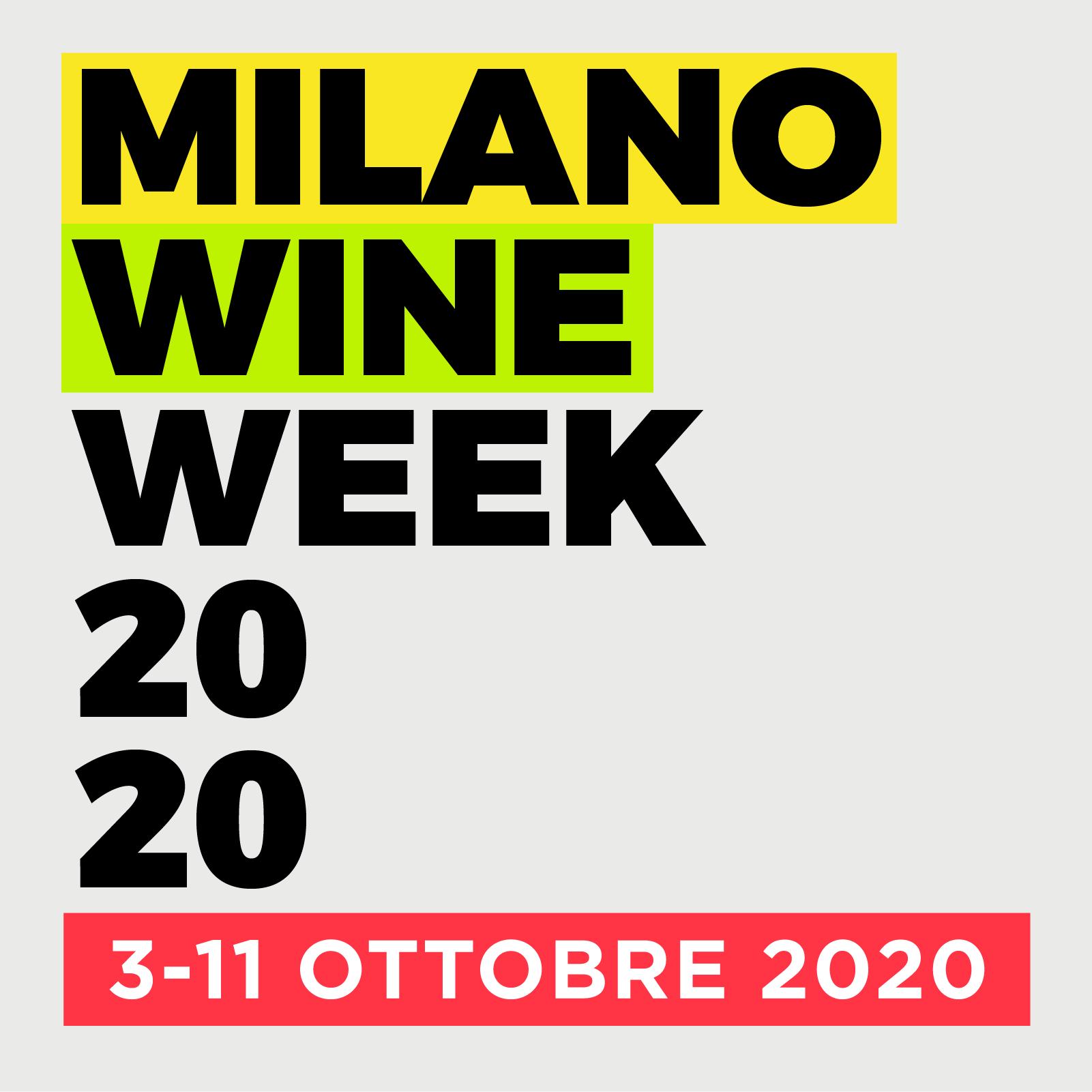 Milano Wine Week 2020: si riparte da qui