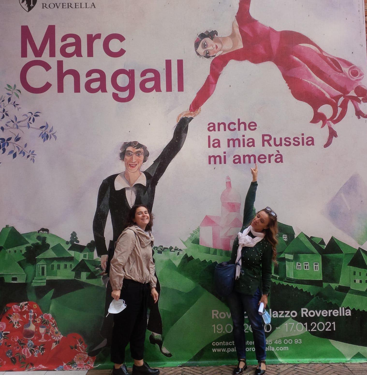 "Nel ""blu dipinto di blu"" di Marc Chagall"