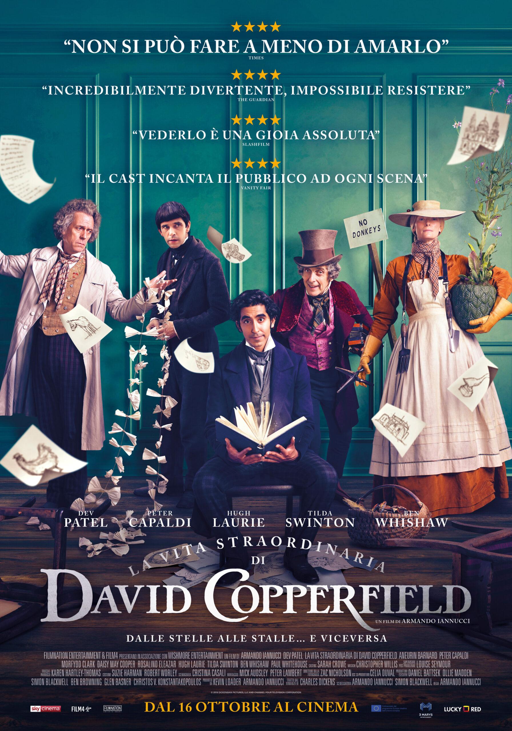 """Recensione in anteprima del film """"La vita straordinaria di David Copperfield"""" di Armando Iannucci"""