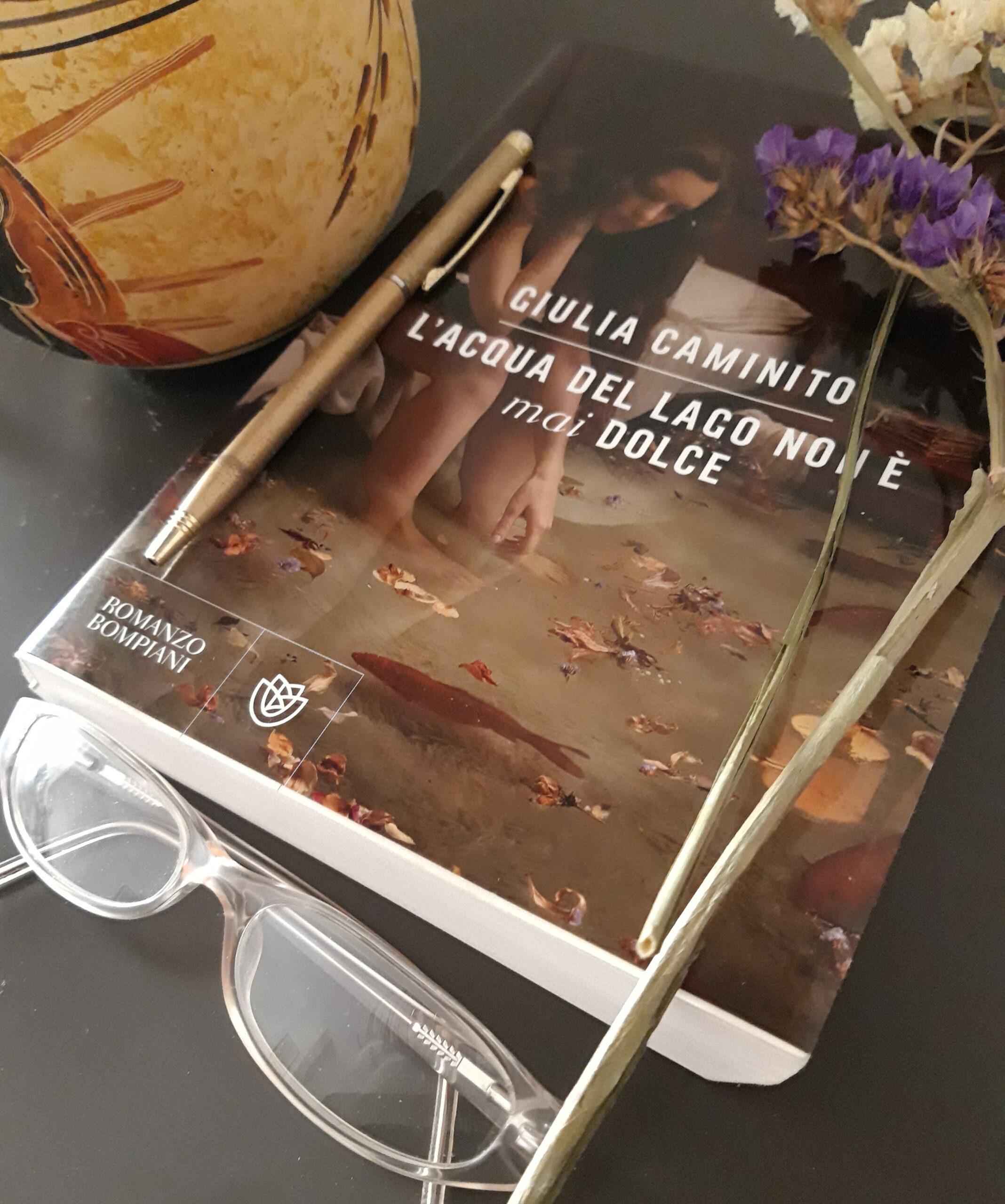 """Riflessioni su """"L'acqua del lago non è mai dolce"""" di Giulia Caminito (Bompiani)"""